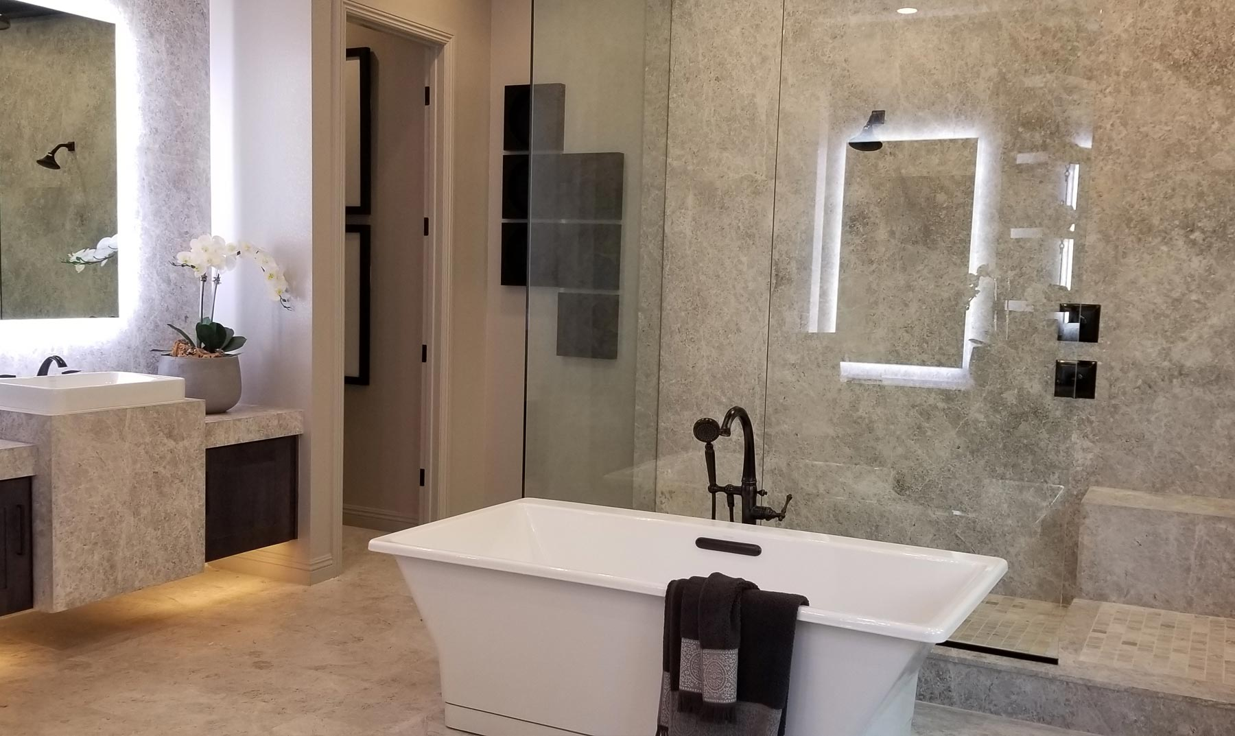 Miracle mile bathroom remodeling simcity - Los angeles bathroom remodeling contractor ...